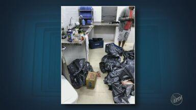 Dois adolescentes são apreendidos pela Polícia por depredação à escola em Paulínia - Na casa dos jovens, ex-alunos da escola, foram encontrados caixas de som, monitores e outros objetos; invasão foi nesta segunda (1).