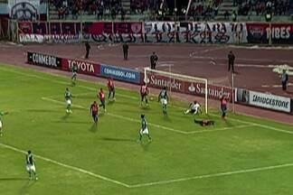 Libertadores: Palmeiras deixou escapar a invencibilidade - Santos está invicto.