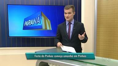 Festa do Pinhão começa amanhã em Pinhão - Festa segue até o próximo domingo.