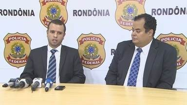 PF de RO prende 11 pessoas em operação 'Las Chicas' contra o tráfico de drogas - A operação cumpriu 54 mandados judiciais, 20 de prisão preventiva, prisões coercitivas além de buscas e apreensões.