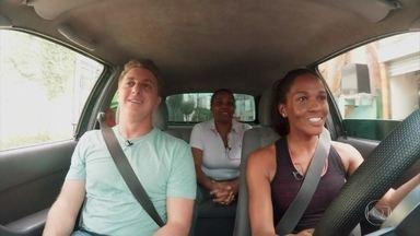 'Boas Ações': Luciano recompensa Daniela, uma motorista exemplar - Confira!