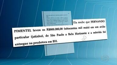 Pimentel intermediou pagamentos não declarados em campanha de Patrus, diz Mônica Moura - Segundo a marqueteira, o então ministro levou mala com R$ 800 mil de SP para BH em jatinho; Pimentel e Patrus negam irregularidades.