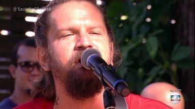 Saulo canta 'Sol em Festa' - Cantor agita o programa!