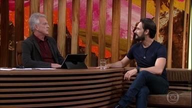 Rodrigo Santoro fala da carreira internacional - O ator explica por que ainda não tem o green card