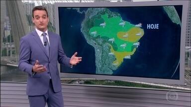 Clima deve ficar frio nas regiões Sul e Sudeste até o fim de semana - Clima deve ficar frio nas regiões Sul e Sudeste até o fim de semana