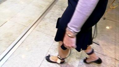 Teste indica onde as pessoas colocam mais pressão ao pisar - O formato do pé em relação ao sapato influencia diretamente na qualidade de como pisar.