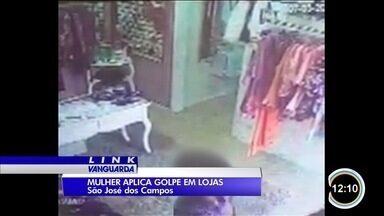 Mulher tem se passado por amiga de donas de loja para aplicar golpes - Polícia investiga casos que aconteceram em diferentes regiões da cidade.