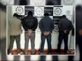 21 pessoas são presos em operação contra assaltos a banco no RS - Cinco suspeitos foram detidos na região Norte do estado