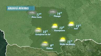 Chove em todas as cidades da região nesta quinta-feira - Essa previsão de chuva se estende a sexta-feira. No sábado sol aparece.
