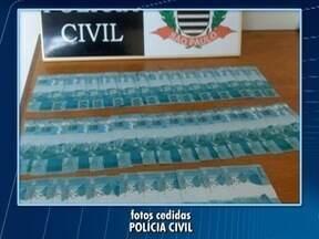 Polícia Civil prende mulher com quase R$ 4 mil em notas falsas - Detida afirmou que tentaria usar o dinheiro em Rosana.