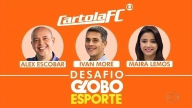 Apresentadores do Globo Esporte se desafiam no Cartola FC - Apresentadores do Globo Esporte se desafiam no Cartola FC