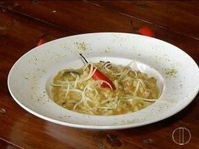 Segredos & Sabores: Aprenda a fazer risoto de carne de sol com abóbora - Prato é indicado para dias mais frios.