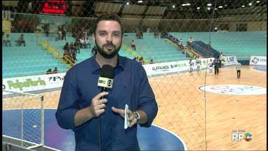 Foz futsal recebe Joinvile pela Liga Nacional de Futsal - Partida é no Ginásio Costa Cavalcante.