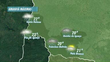 Veja a previsão do tempo para o fim de semana - Deve chover no oeste e no sudoeste.