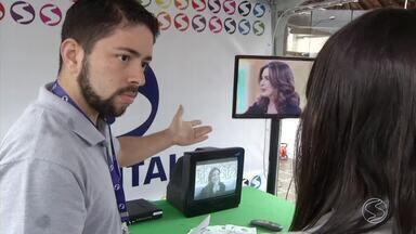 Moradores de Rio Claro tiram dúvidas sobre sinal digital da TV Rio Sul - Eles aprenderam como sintonizar o canal com qualidade de imagem e som.