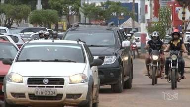 Quem compra veículo no MA e não transfere pode pagar multa - Em Balsas, a Polícia Militar garante que tem muita gente nessa situação.