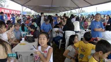 Comunidade Nipo-Brasileira, em Campo Grande, participa do Undokai - Encontro é realizado há 32 anos na capital sul-mato-grossense. Muita gente participou do evento.