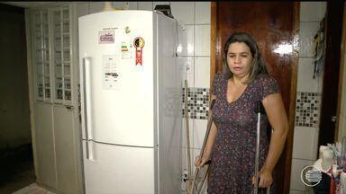 Moradores da Zona Norte de Teresina reclamam da falta de energia durante a noite - Moradores da Zona Norte de Teresina reclamam da falta de energia durante a noite