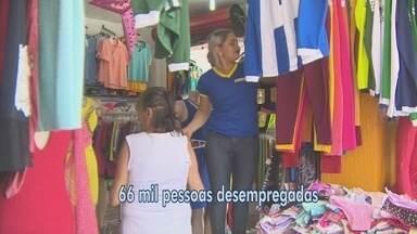 Amapá registrou 66 mil pessoas desempregadas no 1º trimestre de 2017, aponta IBGE - Essa é a 2ª maior taca de desocupação do país. Em comparação ao mesmo período de 2016, a taxa de desocupação cresceu com a inclusão de 18 mil pessoas.