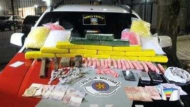 Polícia apreende 15 quilos de maconha em Taubaté - Ocorrência aconteceu no bairro São Gonçalo.