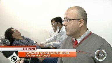 São José tem campanha de doação de sangue - Iniciativa incentiva comunidade a doar.