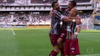 Com 100% de aproveitamento, Fluminense encara o Vasco cheio de moral - Equipe é uma das líderes da competição.