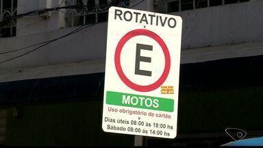 Estacionamento rotativo de Colatina, Noroeste do ES, começa a funcionar em um mês - Assunto dividiu opiniões na cidade.