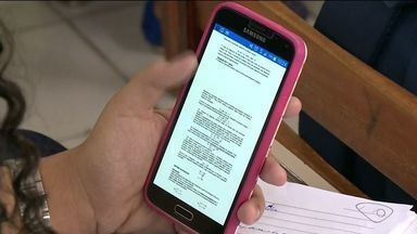 Alunos de Guaçuí, no Sul do ES, criam aplicativo que ensina matemática - Uso de celular em sala vai ser usado em prol da educação.