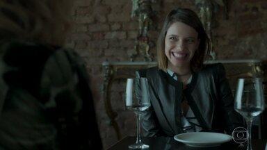 Cibele comemora reaproximação com Joyce - Ela diz que Ritinha vai sofrer com a convivência na casa da sogra
