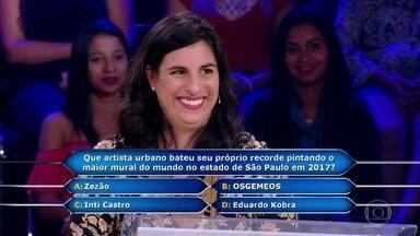 Quem Quer Ser Um Milionário? Veja a participação emocionante de Marina Ocanha - Descubra se a psicóloga levou o prêmio máximo