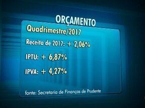 Prefeitura de Presidente Prudente fecha quadrimestre com superávit - Números da arrecadação municipal foram apresentados em audiência pública.