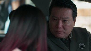 Noboru exige que Tina se mantenha afastada de Anderson - Ellen também aconselha Anderson a esquecer a japonesa