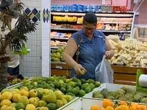 Preços de frutas cítricas apresentam variações nos supermercados - Uma dica importante é pesquisar os valores.