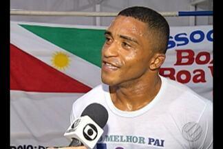 Paraense disputa título brasileiro de boxe - Paraense disputa título brasileiro dos super-leves no Rancho