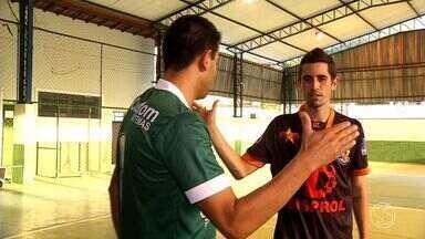 Semifinais da Copa Rio Sul de Futsal colocam irmãos frente a frente - Enquanto Pablo defende Mendes, Léo Fortaleza tenta levar Paulo de Frontin a título inédito.