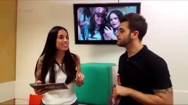 Boletim Malhação - 31/05 - Felipe pede desculpas à Clara! - #BoletimMalhação - Apresentado por Tata Dias e Gui Sousa