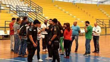 Reunião define detalhes para grande final da Copa Rio Sul de Futsal - Evento aconteceu em Volta Redonda; festa será no dia 10 de junho com transmissão ao vivo da Ilha São João.