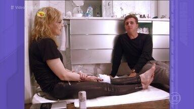 Pediu Passou: Reveja entrevista de Luciano Huck com Madonna - Confira