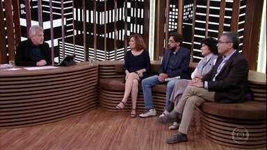 Conversa com Bial - Programa de terça-feira, 06/06/2017, na íntegra - Pedro Bial recebe a jornalista Miriam Leitão e os familiares de Vladimir Herzog no Conversa com Bial desta terça-feira (6/6). O tema: o período da ditadura