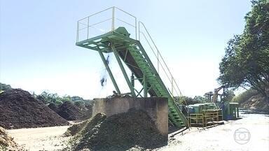Antigo aterro de BH é usado para reciclar entulho, produzir adubo e gerar energia - Capacidade do local se esgotou há dez anos.