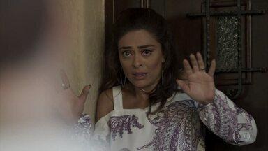 A Força do Querer - Capítulo de sexta-feira, 09/06/2017, na íntegra - Bibi afirma que se vingará de Jeiza. Silvana vai à casa de Heleninha. Bibi é intimidada por bandidos na porta de sua casa.