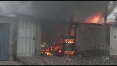 Suspeito de atear fogo em casa de companheira é detido em Americana - Caso aconteceu na tarde de sexta-feira (9).