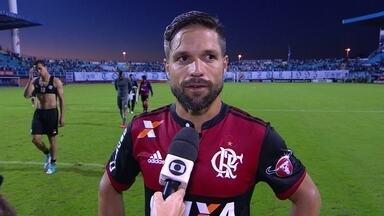 """Diego fala sobre situação de Zé Ricardo no Flamengo após empate: """"Nós somos responsáveis"""" - O Rubro-negro ficou no 1 a 1 contra o Avaí fora de casa."""