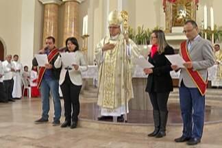 Festeiros da Festa do Divino Espírito Santo de 2018 são anunciados em Mogi das Cruzes - Evento foi realizado nesta quinta-feira (15) em Mogi das Cruzes, na Catedral de Sant'Ana.