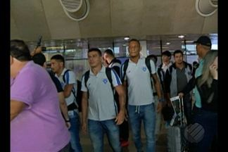 Paysandu retorna a Belém após derrota para o Guarani - Paysandu retorna a Belém após derrota para o Guarani