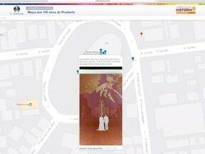 Telespectadores participam do 'Mapa do Centenário' de Presidente Prudente - Aproveite também para divulgar as fotos da história da cidade.