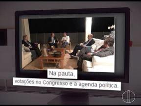 Pedido de prisão de Aécio Neves incluiu foto que mostrava que ele continuava no Congresso - Foto foi postada em redes sociais.