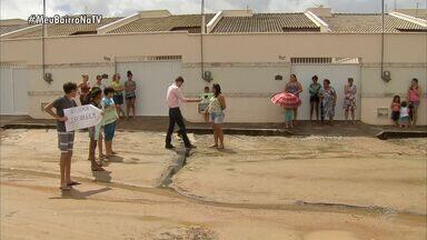Meu Bairro na TV ouve a reclamação dos moradores do Novo Maranguape - Quadro vai ao ar no CETV às terças e quintas-feiras.