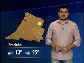 Confira a previsão do tempo para o Oeste Paulista - Veja como fica a temperatura na região.