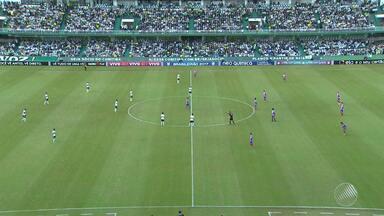 Fora de casa, Bahia empata com o Coritiba - Com o resultado, o tricolor subiu duas posições na classificação do Brasileirão.
